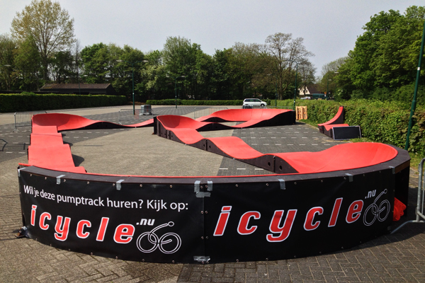 pumptrack huren icycle