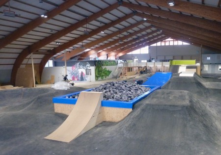 Velosolutions indoor bikepark