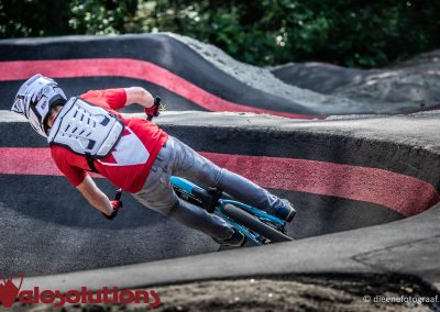 Velosolutions asfalt PumpTrack België Genk