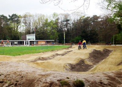 Velosolutions gravel pumptrack Apeldoorn