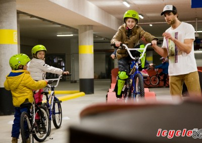 Pumptrack parkeergarage Drachten